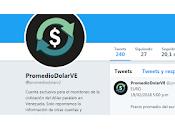 resurrección marcadores paralelos cotización dólar: @PromedioDolarVe.