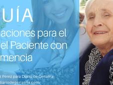 GUÍAS: Recomendaciones para Cuidador Paciente Demencia