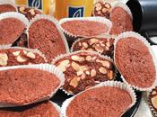 Magdalenas remolacha, café chocolate