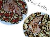 Filetes calabacín plancha