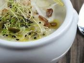 Crema Coliflor Shitake Parmesano