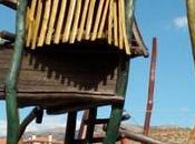 Sabiñánigo: Trepando área juegos
