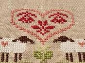 ovejas. Little House Needleworks