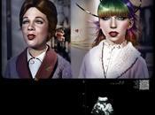 Julie Andrews Lady Gaga según Saul Zanolari