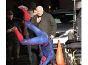 Spiderman hace voltereta Amazing Spider-Man