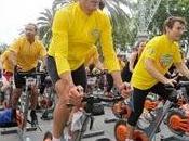 Miguel Indurain pedalea corazón Barcelona