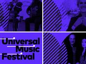 Figuras destacadas ámbito internacional Universal Music Festival.