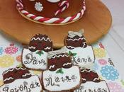 Tarta navidad galletas persoalizadas