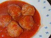 Albondigas tomate olla lenta