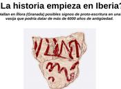 historia empieza Iberia? Hallan Íllora (Granada) posibles signos proto-escritura vasija podría datar 6000 años antigüedad.