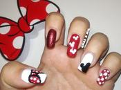 Diseño uñas Disney: Mickey Minnie