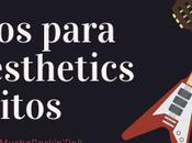 #UnaSemanaConMuchoRock'N'Roll Consejos para hacer aesthetics bonitos