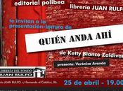 Presentación Quién anda Ketty Blanco Zaldivar Madrid