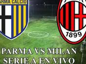 Parma Milan vivo Serie