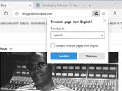"""Microsoft Edge Chromium tiene función """"Traducir"""" para páginas completas, cómo puedes habilitarla"""