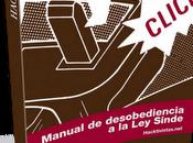 Libro Manual desobediencia Sinde. Descargar