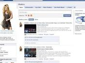 Shakira fenómeno Facebook