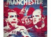 Manchester rojo azul