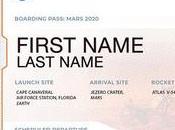 Envía nombre bordo rover marciano 2020