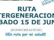 Ruta intergeneracional 2019