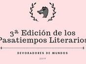 ¿Eres autor? ¡Pues participa Edición Pasatiempos Literarios!
