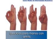 Artricenter: Ejercicios para manos artritis