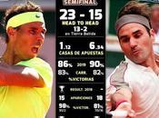 Nadal Federer,se enfrentan semis