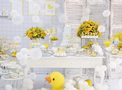 Patito Baby Shower hora baño