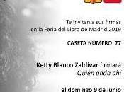 Firmas Editorial Polibea, Feria Libro Madrid 2019