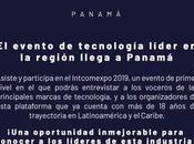 Intcomexpo Panamá 2019: evento tecnología líder región llega