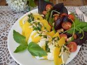 Ensalada verano mozzarella mango