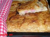Empanada pizza hojaldre