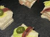 Canapés atún anchoas