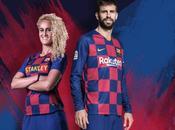 Nueva camiseta F.C. Barcelona para temporada 2019-20