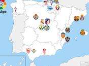 distribución fútbol profesional España 2019/20