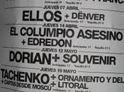 CRONICA: COLUMPIO ASESINO EDREDON POP&DANCE; ROCK KITCHEN