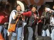 Keiko fujimori agredida cajamarca...¡y santo!