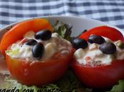 Tomates rellenos ensaladilla