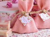 Saquitos jabones, detalles naturales boda.
