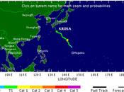 """Tormenta tropical """"Krosa"""" pone Alerta Japón"""