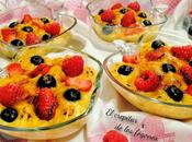 Gratinado frutos rojos crema pastelera vainilla