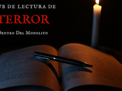 Convocatoria club lectura terror