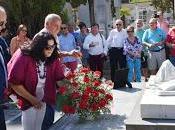 """Homenaje ofrenda floral """"manolete"""" aniversario tragedia linares"""