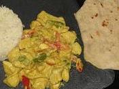 Pollo curry naan
