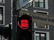 Alemania: semáforos berlín instan conductores volverse veganos