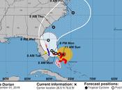 Dorian convertido huracán catastrófico vientos kilómetros hora.