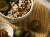Porridge almendras frutas desayuno perfecto minutos