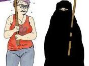 movimiento LGBT feminazismo arrodillan nuevo ante Islam