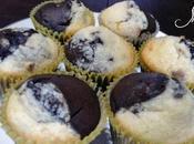 Muffins chocolate, coco almendras