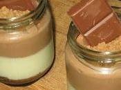 Vasitos chocolate, yogur galletas